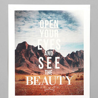 Zach Terrell For Society6 The Beauty Print