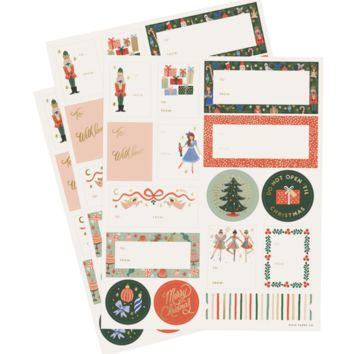 Nutcracker Stickers & Labels