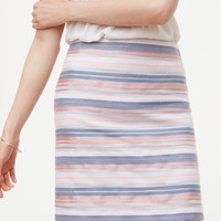 Striped Shift Skirt | LOFT