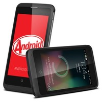 ZTE OPEN C Dual Core Android 4.4 KitKat 3G Unlocked Smartphone 4GB ROM 512MB RAM+Excelvan® 8GB Micro SD TF Memory Card