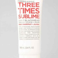 Formula 10.0.6 Three Times Sublime 3-in-1 Blackhead Treatment
