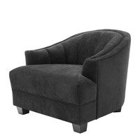 Black Lounge Chair | Eichholtz Polaris