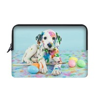"Yestore Superior Neoprene Dog Sleeve Case for Macbook Air 11"" and Laptop 10"""
