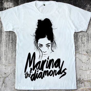 Graphic Face's Marina Lambrini Diamandis Marina and the Diamonds Electra Heart Unisex T-Shirt