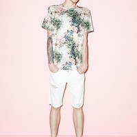Thierry Boutemy for Opening Ceremony Pastel Composition Mesh Tee - MEN - SALE - Thierry Boutemy for Opening Ceremony