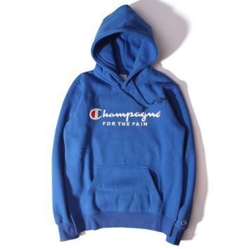 champion Women/Men Fashion Long Sleeve Pullover Sweater Sweatshirt Hoodie