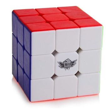 Cyclone Boys 3x3 Speed Cube Stickerless Professional Magic Cube 3x3x3 Puzzles Toys (56mm) Colorful Educational Toy For Children