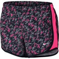 Nike Girls' Tempo Printed 2 Running Shorts