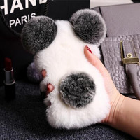 Lovely plush toys mobile phone case for iphone 7 7 Plus 6 6s 6 plus 6s plus + Nice gift box 71501