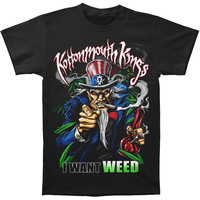 Kottonmouth Kings Men's  I Want Weed T-shirt Black