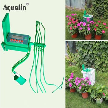 2016  Automatic Micro Home  Drip Irrigation System Sprinkler with Smart Controller for Garden,Bonsai Indoor Use #22018