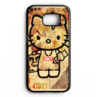 Obey Hello Kitty Samsung Galaxy S6 Edge Case