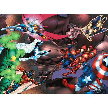 New Thunderbolts #13 - Limited Edition Giclee on Stretched Canvas by Tom Grummett and Marvel Comics