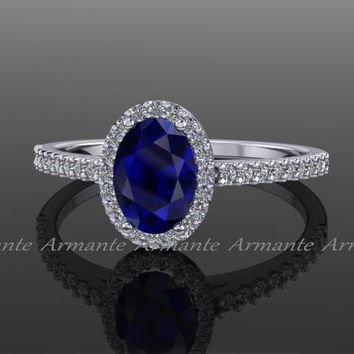 Best Oval Blue Sapphire Engagement Ring Products on Wanelo 21794dc5bb