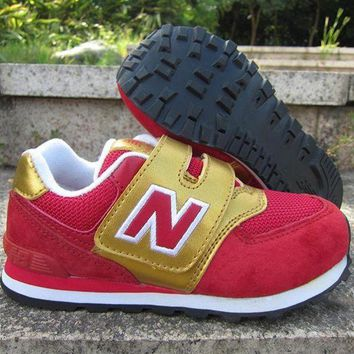 DCCK1IN new balance girls boys children baby toddler kids child breathable sneakers sport shoe  6