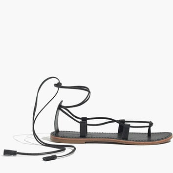 THE SIGHTSEER LACE-UP SANDAL