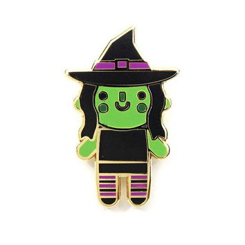 Witch Baby Pin