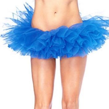 Royal Blue Tutu Pettiskirt Teens or Adults
