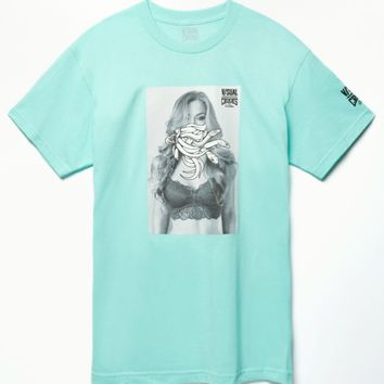 Visual by Van Styles - Crooks & Castles Nicole Mejia T-Shirt - Mens Tee - Green