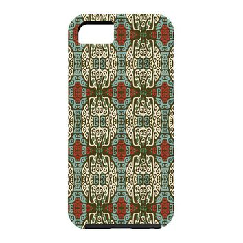Belle13 Abstract Tree Deco Pattern 1 Cell Phone Case