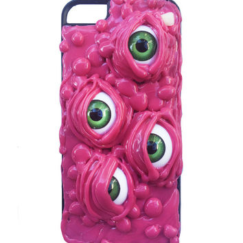 SLIME EYES IPHONE 5 CASE - WATERMELON – tibbs & BONES