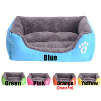 New 2014 Dog House Pets Beds Free Shipping Soft Pet House For Dog Beds Cats Animals Pats House Dog Products Cats Mat HP158