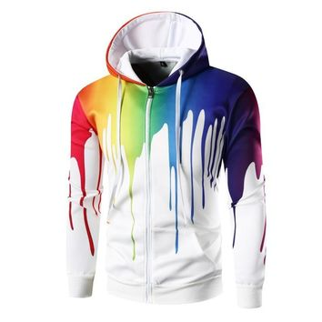 hat rope Sweatshirts Cultivate one's morality 3D printing  Casual men's hoodies  new arrival Hot Style brand men's hoodies coat