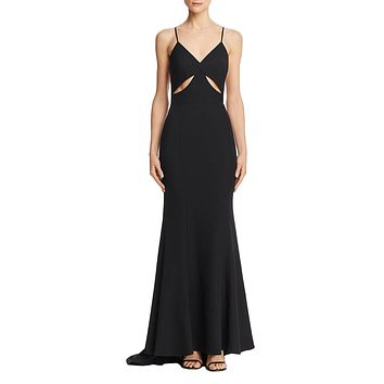 Priscilla Cut Out Evening Gown