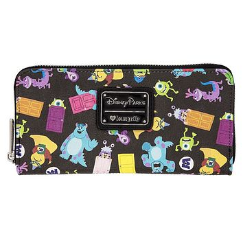 Disney Monsters Wallet by Loungefly New with Tags