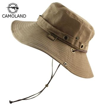 0437025dc4e UPF 50+ Bucket Hat Summer Men Women Fishing Boonie Cap Sun UV Pr