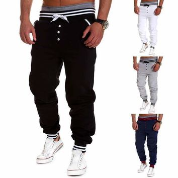 Harem Pants New Style Fashion 2015 Casual Skinny Sweatpants Pants Trousers Drop Crotch Leisure Pants Men Joggers Sarouel