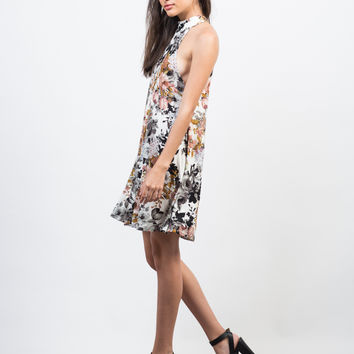 Fallin' for Florals Dress