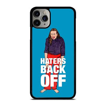 MIRANDA SINGS HATERS BACK OFF iPhone Case Cover