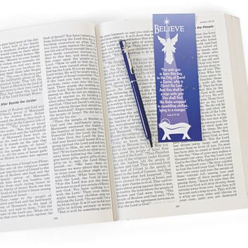 star of bethlehem pen and bookmark Case of 4