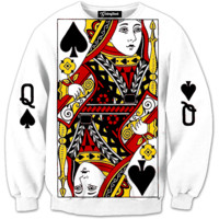 Queen of Spades Crewneck
