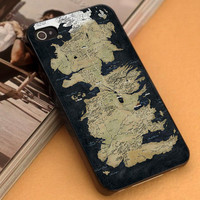 I map Game of Thrones on Design iPhone - iPod Case - Samsung Galaxy-Htc X One/One