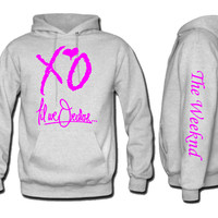 xo the weekend till we overdose Hoodie