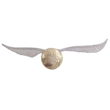 Universal Studios Harry Potter Golden Snitch Quidditch Pin New with Card