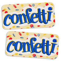 Confetti Bakery Labels