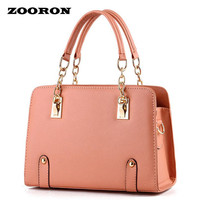 ZOORON New Fashionable high quality women PU leather handbags Bag Lady tote bag women designer handbags messenger bags