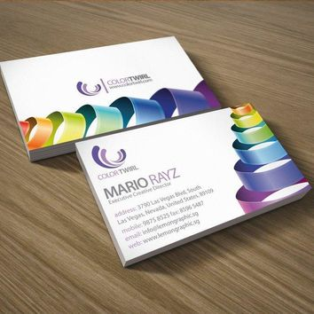 350gsm laminated art paper business cards +free shipping