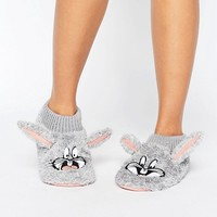 Undiz Asteriz Bugs Bunny Slippers at asos.com