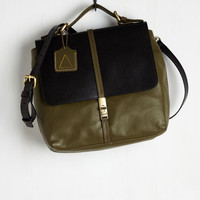 Menswear Inspired Systematically Stylish Bag by Kelsi Dagger Brooklyn from ModCloth