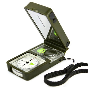 New 10 in 1 Multifunction Outdoor Camping Hiking Survival Tool Compass Kit  7_S = 1917001284