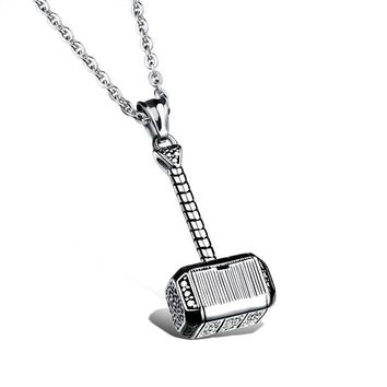 Jewelry Shiny New Arrival Gift Stylish Titanium Strong Character Pendant Men Cool Necklace [10783258947]