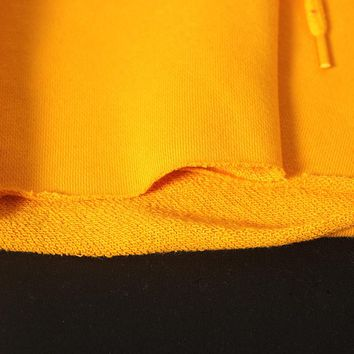 Camilla Pullover Hoodie - Yellow