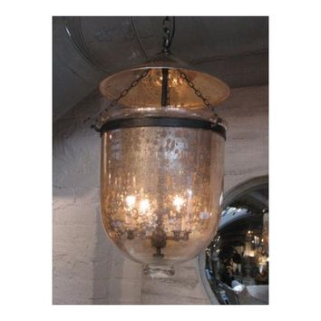 Mercury Glass Lantern, Large