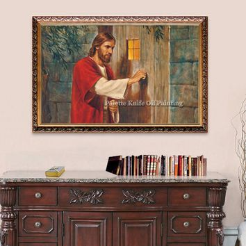 Jesus Christ Jesus Canvas Posters and Prints Wall Art Pictures for living room Home Decor cuadros decoracion Oil painting 129