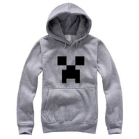 Minecraft Unisex Long Sleeve Hoodies