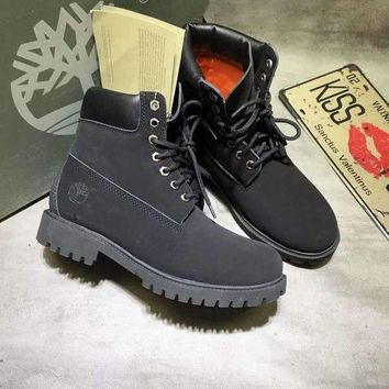 ONETOW Timberland classic Color Black Men Women Sneakers Boots